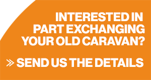 Part exchange your old caravan!